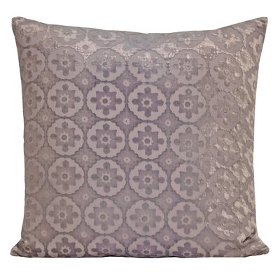 Small Moroccan Velvet Pillow Color: Iris, Size: 18 H x 18 W x 4 D