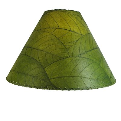 18 Cocoa Leaf Empire Lamp Shade Color: Green