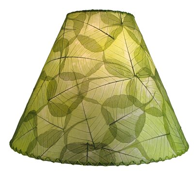 16 Banyan Leaf Empire Lamp Shade Shade Color: Green