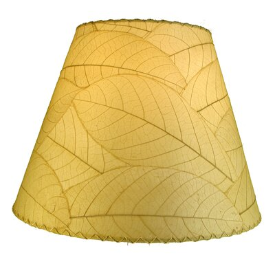 16 Cocoa Leaf Empire Lamp Shade Shade Color: Natural