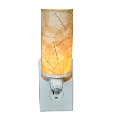 Cylinder Night Light Color: Natural