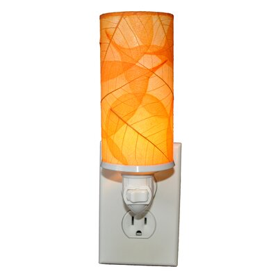 Cylinder Night Light Color: Orange