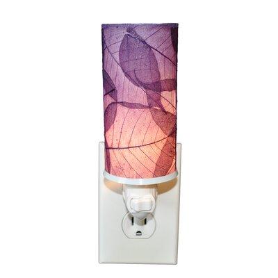 Cylinder Night Light Color: Purple