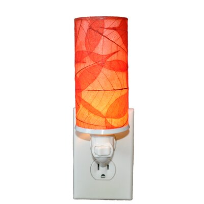 Cylinder Night Light Color: Red