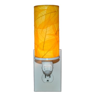 Cylinder Night Light Color: Yellow