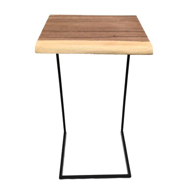 Square Acacia End Table
