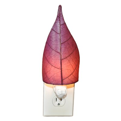 Leaf Night Light Color: Purple