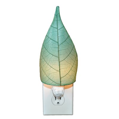 Leaf Night Light Color: Sea Blue