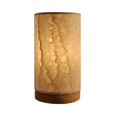 Paper Wave Wood Votive Holder