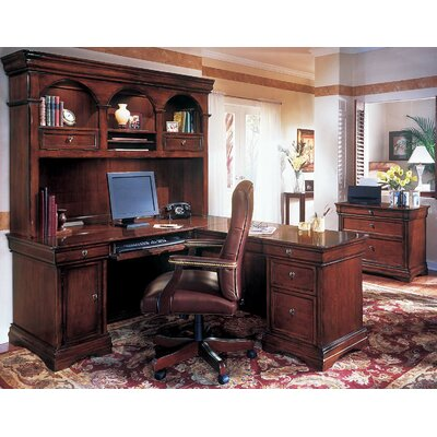 Rue De Lyon 3-Piece L-Shape Executive Desk Office Suite Product Image 21