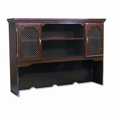 Governors Series Hutch for Kneespace Credenza Product Image 1026