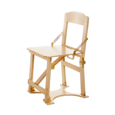 Folding Side Chair NCAA Team: Natural Birch
