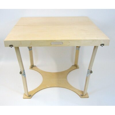 Puzzle Folding Bar Table Finish: Natural