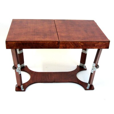Portable Folding Coffee Table Finish: Red Mahogany