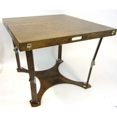 Puzzle Folding Bar Table Finish: Dark Walnut