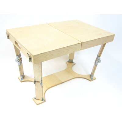 Alpharetta Portable Folding Coffee Table Color: Natural Birch