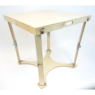 Portable Folding Dining Table Finish: Natural Birch