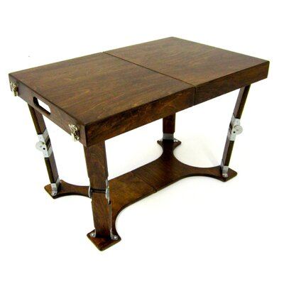 Alpharetta Portable Folding Coffee Table Color: Golden Oak
