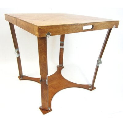 Portable Folding Dining Table Finish: Light Walnut