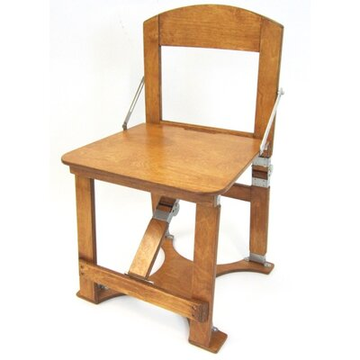 Folding Side Chair NCAA Team: Warm Oak