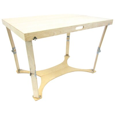Picnic Folding Dining Table Finish: Natural