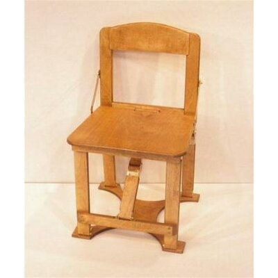 Folding Side Chair Finish: Golden Oak