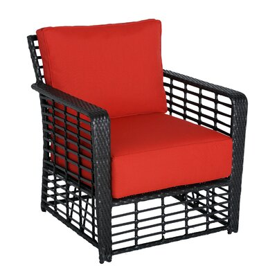 Melrose Armchair with Cushion Upholstery: B Grade