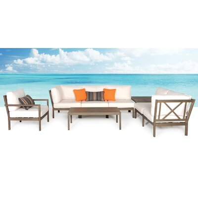 Avalon 8 Piece Deep Seating Group with Cushion