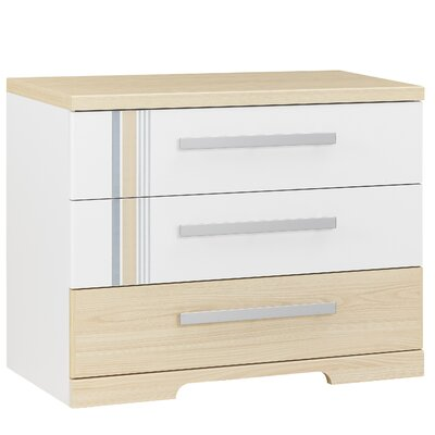 Titouan 3 Drawer Chest of Drawers