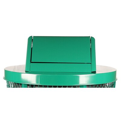 WITT Expanded Metal Series Swing Top Drum Lid - Finish: Powder Coat Green at Sears.com