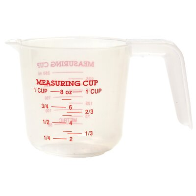 1 Cup Plastic Measuring Cup 3035