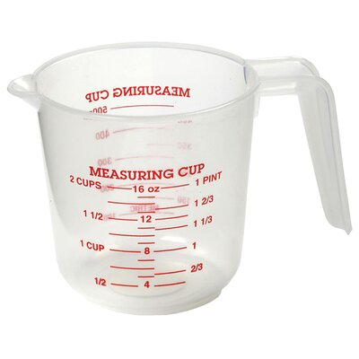 2 Cup Plastic Measuring Cup 3036