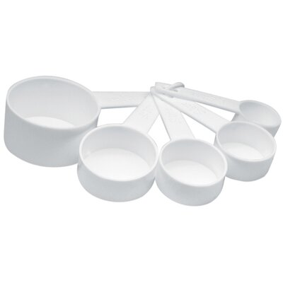 Norpro 5 Piece Plastic Measuring Cup Set 3044W