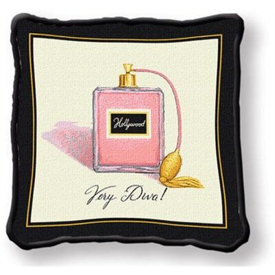 Very Diva Throw Pillow