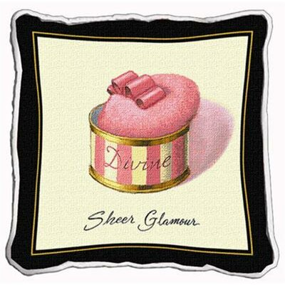 Sheer Glamour Throw Pillow