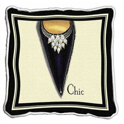 Chic Stiletto Throw Pillow