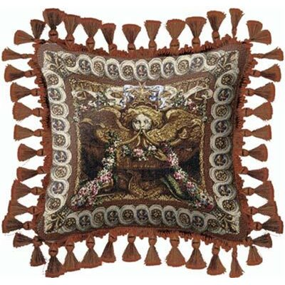 Portieve Du Char Throw Pillow