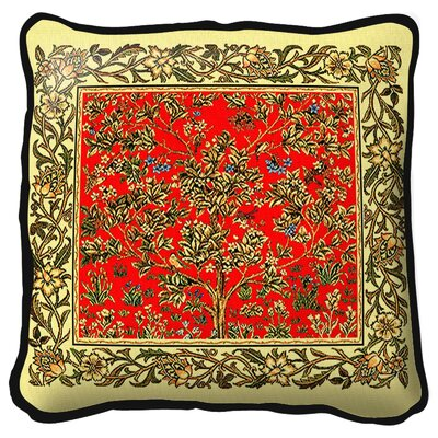 Tree of Life Midnight Throw Pillow