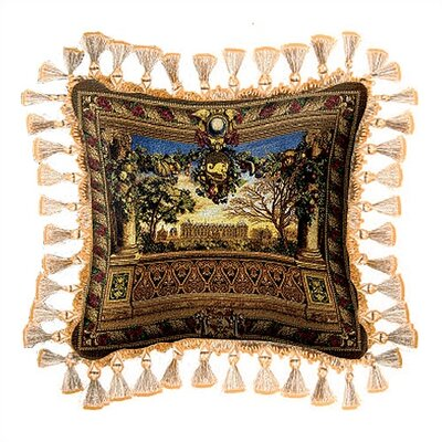 Le Chateau de Monceau Throw Pillow