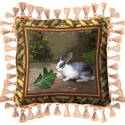 Lapin Lettuce Throw Pillow