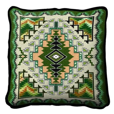 Southwest Painted Hills Throw Pillow Color: Sage