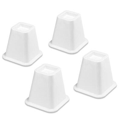 Bed Riser (Set of 4) Color: White