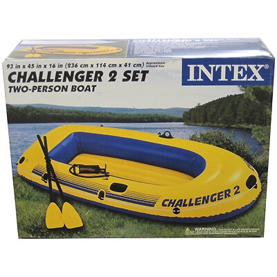 Image of Intex Challenger 2 Boat Kit (68367EP�)