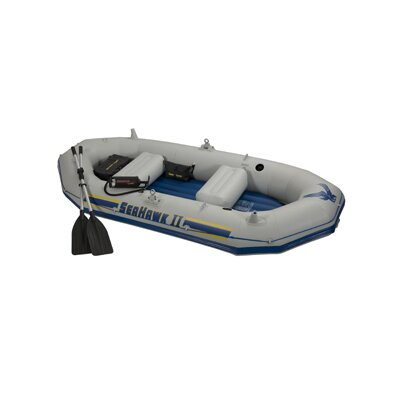 Cheap Intex Seahawk II Boat Set (68377E�)