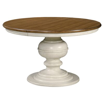 Summer Hill Radley Round Dining Table in Cotton & Maple