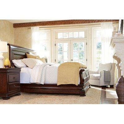 Adamson Sleigh Bed Size: Queen