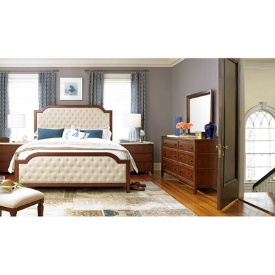 Silhouette Mason King Upholstered Panel Headboard