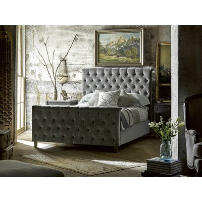 Wellison Upholstered Panel Bed