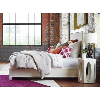 Lois King Upholstered Panel Bed