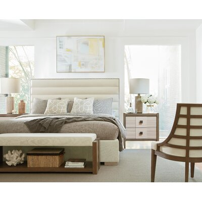 Highpoint Upholstered Panel Bed